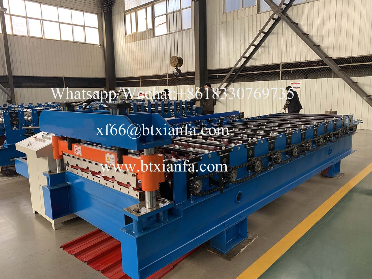 IBR metal roof machines
