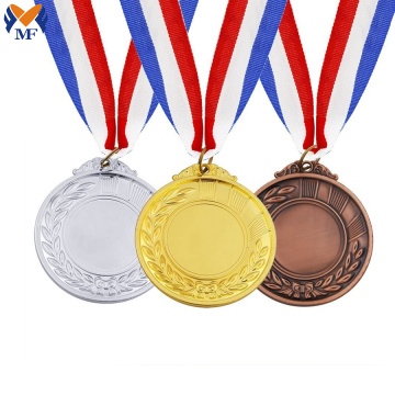 Custom design blank medal set for sport