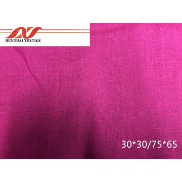 Mei Red Fabric 30*30/75*65 142cm 111gsm