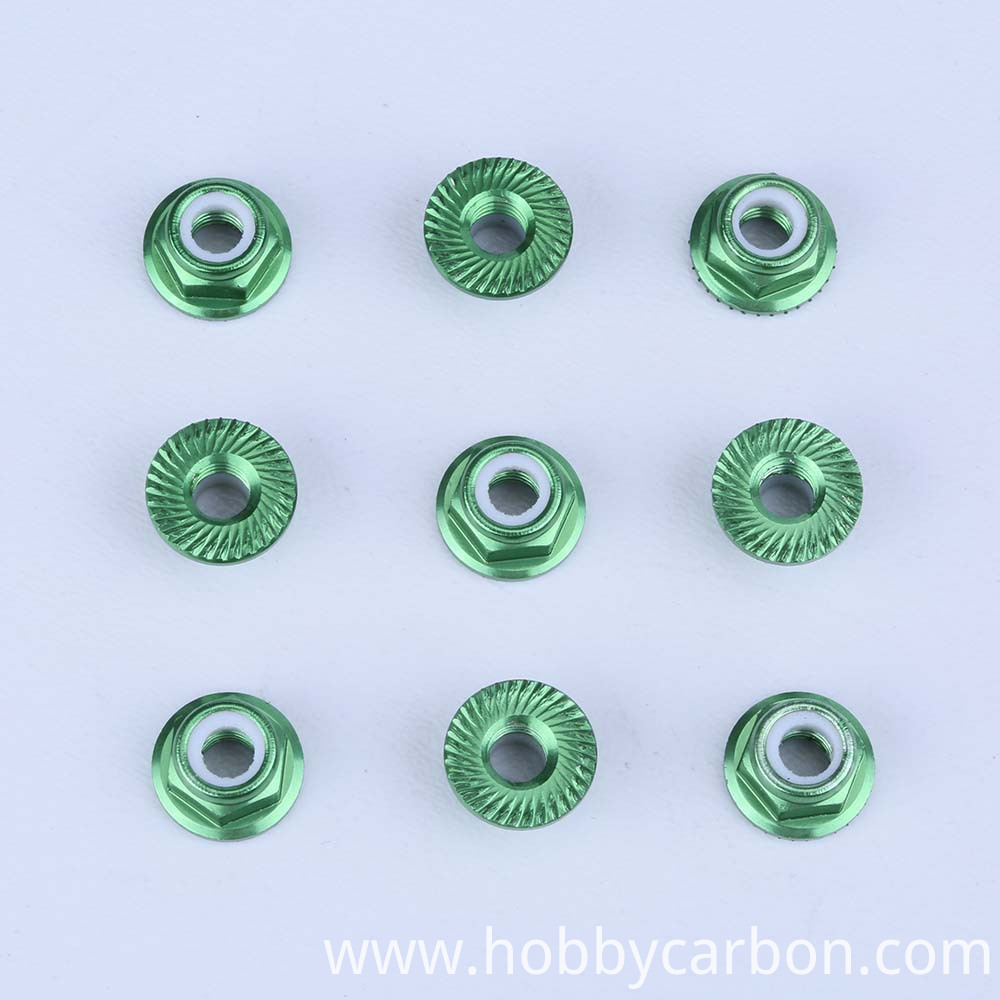 customized aluminum metric button nut
