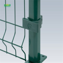 welded triangle bend fencing