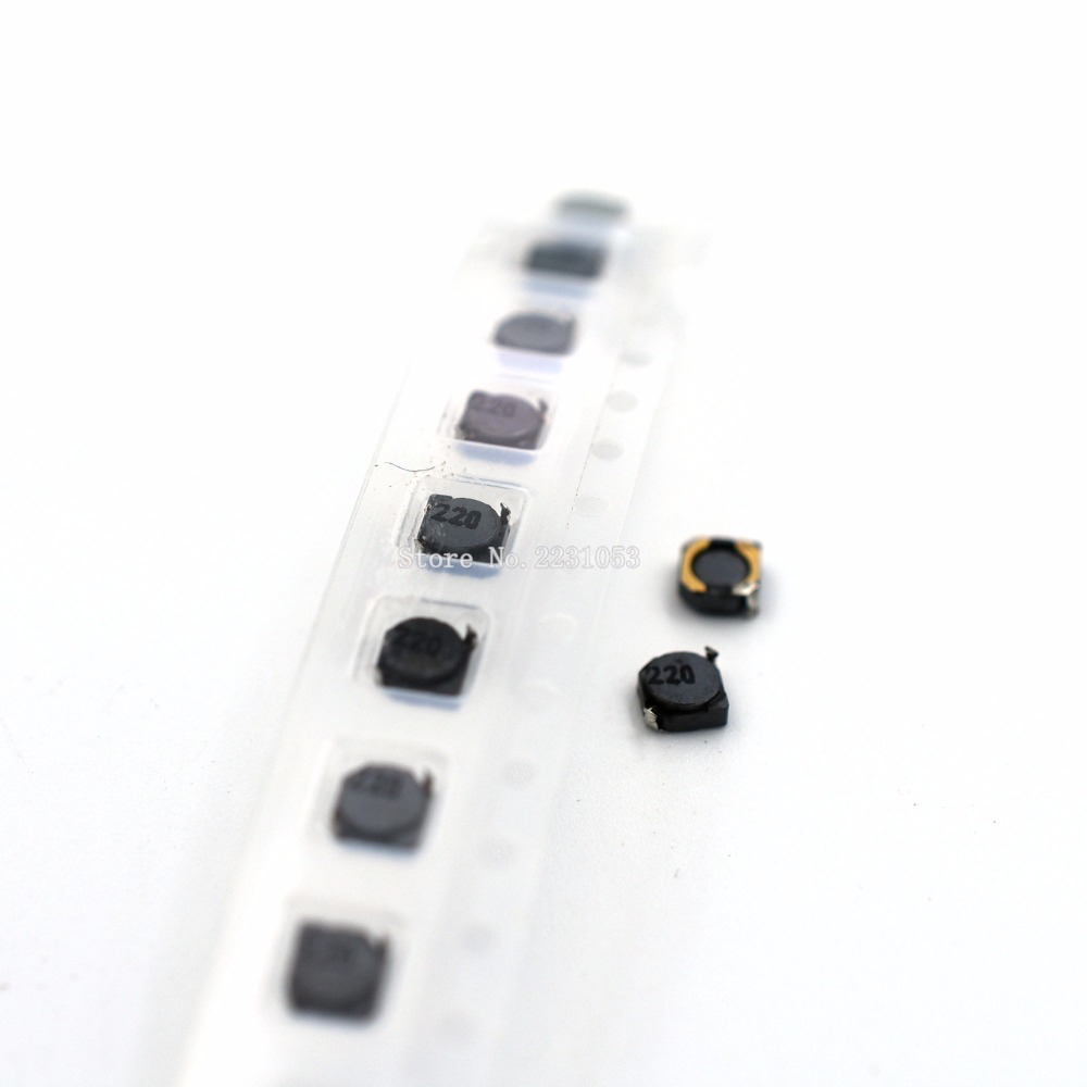 10PCS/LOT CDRH3D16 Shielded Inductor 22uH 22uh 220 Inductance 3*3*1.6mm SMD Power Inductor