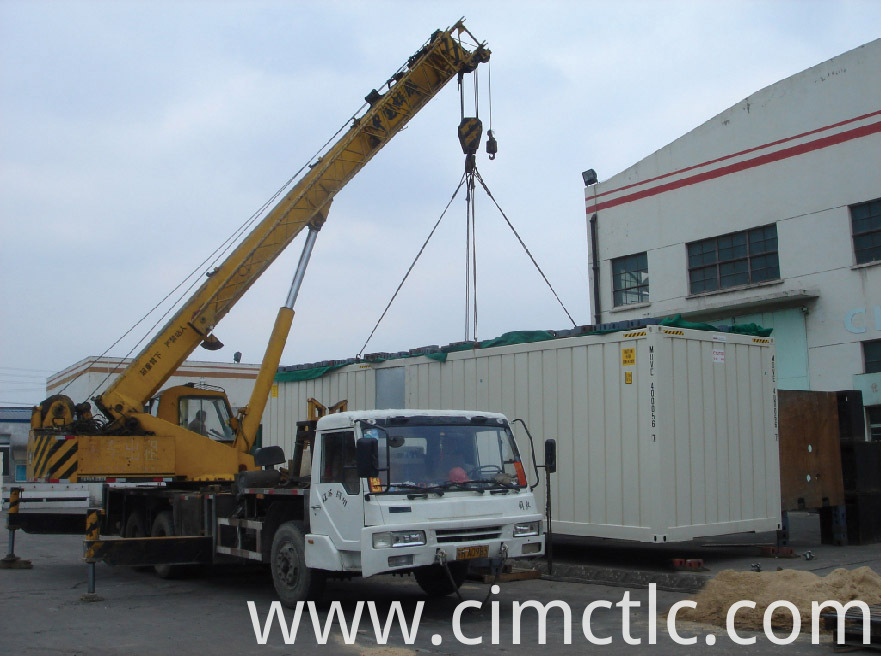 lifting test for Modular Recreation Room Container Type