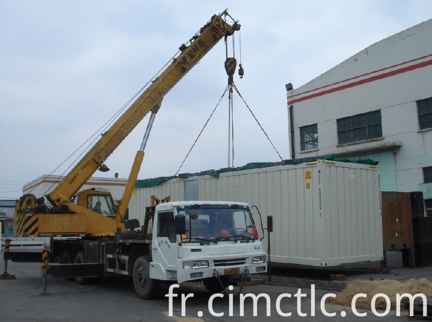 lifting test for Offshore DNV Rated Generator Container