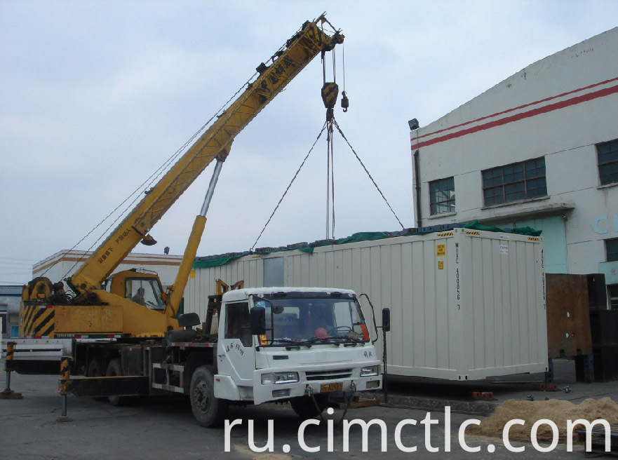 lifting test for ISO Standard Generator Container