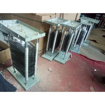 Tower crane resistance panel box