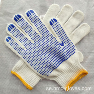 PVC Dotted Safety Working Glove