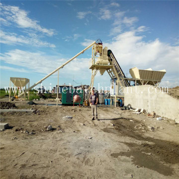 Philippines Mobile Concrete Batching Plant Cost