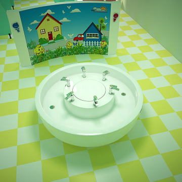 Kindergarten children wash basin kids Toilet RL-L14