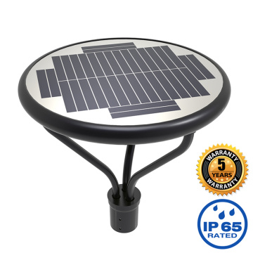 Solar led post top light fixture 50W