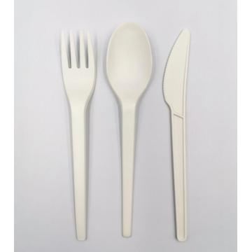 100% Biodegradable PLA Compostable Cutlery Knives