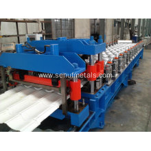 Aluminium glazed tile roll making machine