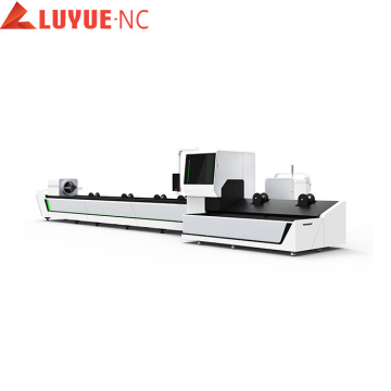Cnc Tube Square Fiber Laser Cutting Machine
