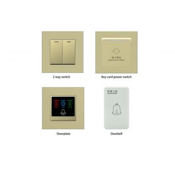 New Design Touch Switch Plastic for Hotel RCU