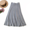 Good Quality Comfortable Wear Loose Elastic Skirts