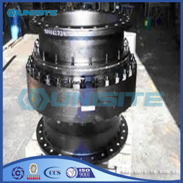 Customized dredger turning glands