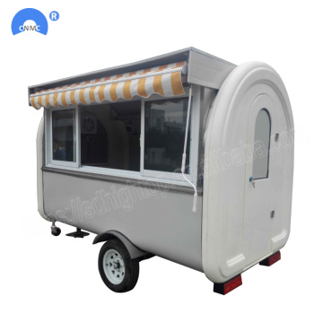 Snack Machinery Food-aanhangwagen te koop