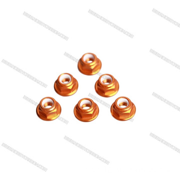 Stable Flange Nut Aluminum Alloy Nut Application