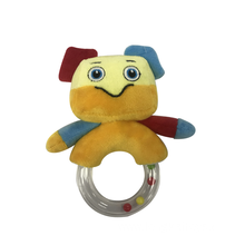 Plush Robot Rattle Toy