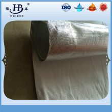 Aluminum foil with fiber glass insulation pipe cover