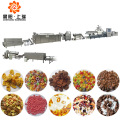 Breakfast cereal corn flakes extruder making machines
