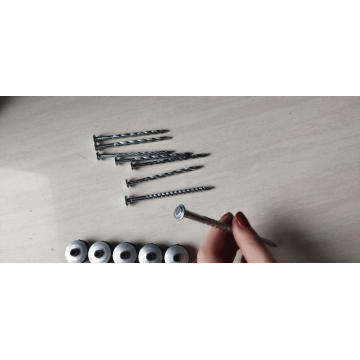 Combined Corrugated Nails with Cap