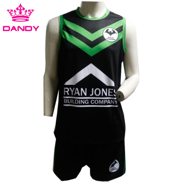 Sublimated basketball jerseys for team