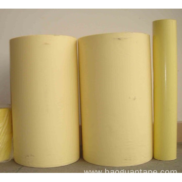 Single side PE coated yellow paper