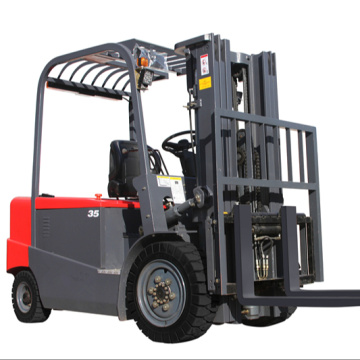 High quality 3500kg Battery operated forklift lift truck