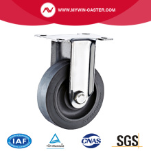 Fixed Plate TPR Stainless Steel Caster