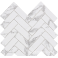 Marble non-slip mosaic tiles for bathroom