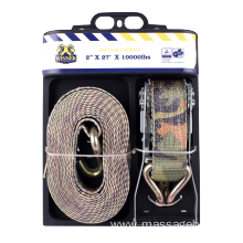 50MM Cargo Lashing Belt with Plastic Handle Buckle