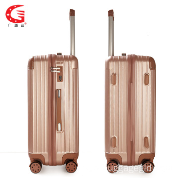 Lightweight trolley case suitcase luggage wholesale