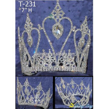 Small Rhinestone Crystal Pageant Crowns