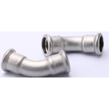 Stainless Steel 316L Compression 45 Degree Elbow Fitting