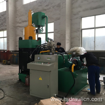 Metal Scraps Chips Aluminum Powder Press Machine