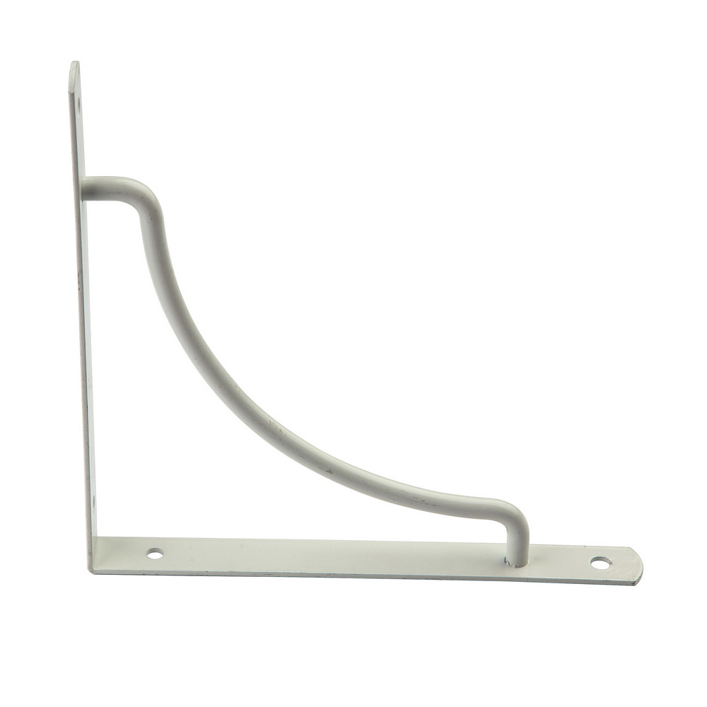 White Shelf Brackets