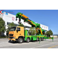 Guaranteed 100% SINO HOWO Truck Mounted 100tons Crane