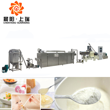 Baby powder extruder machine baby food processing equipment