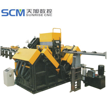 High Speed CNC Steel Angle Drilling Machine Line