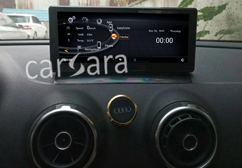 Android Audi A31318 after installation
