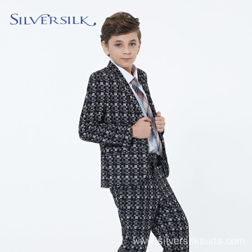 Custom Casual Children Party Boy Floral Blazer Suit
