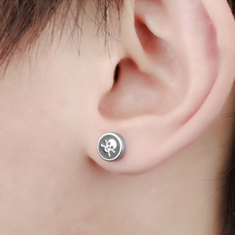 Punk Earrings For Guys