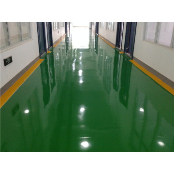 Epoxy self-leveling school floor paint