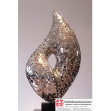 Abstract Stainless Steel Art