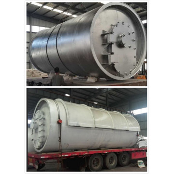 fuel from waste tires pyrolysis machines