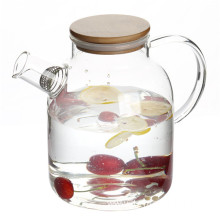 50oz Handmade High Borosilicate Glass water teapot carafe
