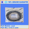 excavator PC400-7 crevice seal 6150-21-2250