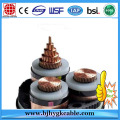 Middle Voltage Electric Cable UV Stabilized 6.35 / 11kV XLPE / AWA / PE