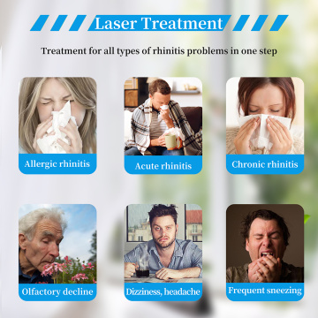 LLLT Nasal Treatment Device Nose Laser Therapy Instrument